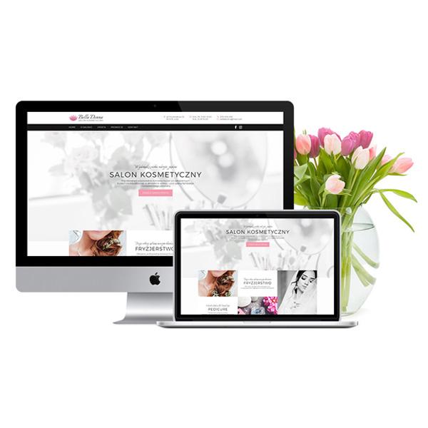 Strona internetowa dla gabinetu kosmetycznego