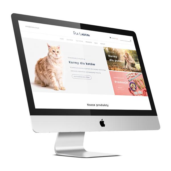 Podstawowy sklep internetowy z indywidualną grafiką